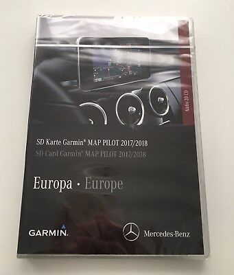 mercedes garmin map pilot v7 sd karte europa update 2017. Black Bedroom Furniture Sets. Home Design Ideas