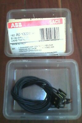 NEW ABB 1SDA013327 Changeover Contact A/C+1 RT S1-S2 Made In Italy