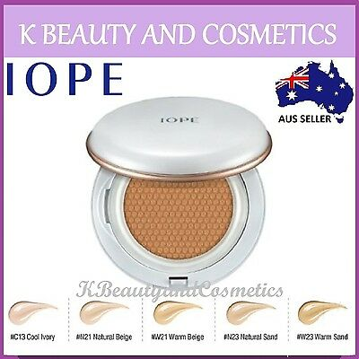[IOPE] Air Cushion *NEW 2017* with Extra Refill 2x 15g SPF50 PA+++ Amore Pacific