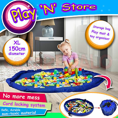 "Play n Store TOY BAG Lego Mat Storage Bag Drawstring Bag ""Colour send Randomly"""
