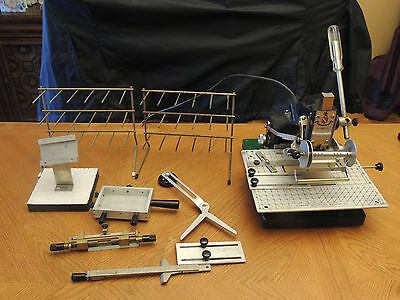 Howard Hot Stamping Model 150  with Accessories, 4 sets type,spacers,some dies