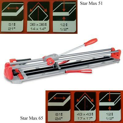 Rubi Star Max 51 Manual Tile Cutter without Angle Guide