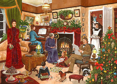 House Of Puzzles 1000 PIECE JIGSAW PUZZLE - Christmas Past Collectors No 12
