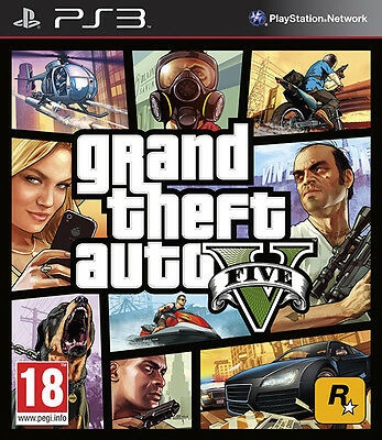 GRAND THEFT AUTO V - GTA 5 ~ PS3 (como nuevo en estado)