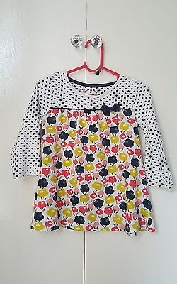 baby girls long sleeve tunic top 12-18 months