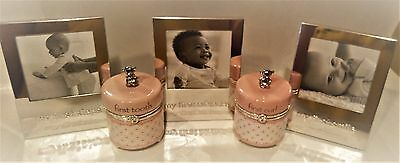 "Baby Girl ""Firsts"" Gift Set - Great gift idea for baby showers!"