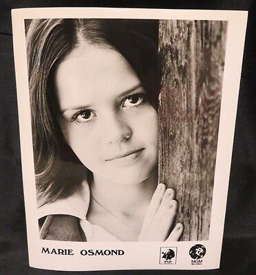 "MARIE OSMOND  Original 8x10"" MGM RECORDS Vintage Photo"