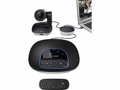 Logitech GROUP Video Conferencing System 960-001054 MAC&PC Bluetooth Zoom Cisco
