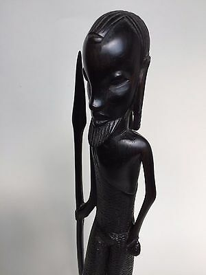 Old Vintage Hand Carved African Male Figurine