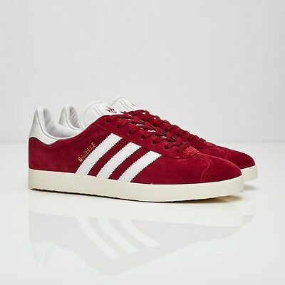 brand new 4c951 34f84 Adidas Gazelle S76220 Collegiate Burgundy Men Size US 12 NEW 100% Authentic