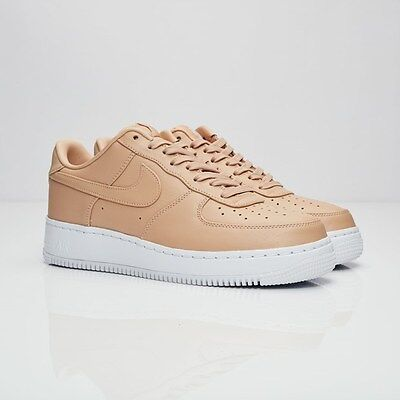 NikeLab Air Force 1 Low 555106-200 Vachetta Tan Size US 10.5 New 100% Authentic