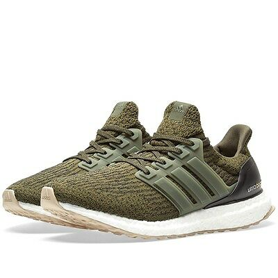 205d02801 Adidas Ultra boost 3.0 Night Cargo Olive S80637 Men Size 11 NEW 100%  Authentic