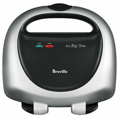 Breville The Big One BTS100 2 Slice Sandwich Maker Cooks 2 Large Toasties