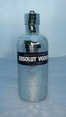 Absolut Disco Ball Silver Case/Cover Limited Edition Vodka Collectible