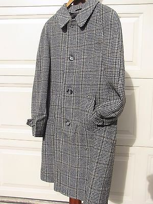 "QUALITY ""ANTHONY McCAUL""  VINTAGE MENS - IRISH TWEED COAT - PURE WOOL"