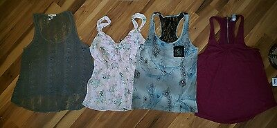 lot of 4 xsmall tank tops cute