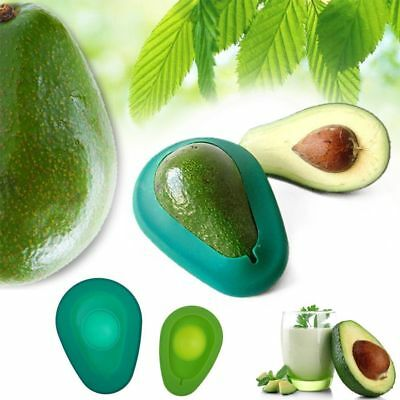 Kitchen Food  Reusable Silicone Avocado Savers Covers Fresh Set of 2 - CY