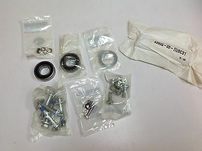 OEM Harley Dyna 25mm Bearings Pulley Bolts Installation Kit Rear Wheel