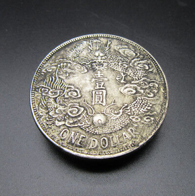 1912 Coin Imitation Coins Ancient Chinese Dragon Coins Silver Dollar