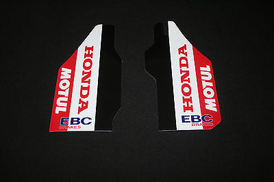 Honda Cr - Crf - Crfx  Lower  Fork  Guard Mx Graphics Decals Stickers