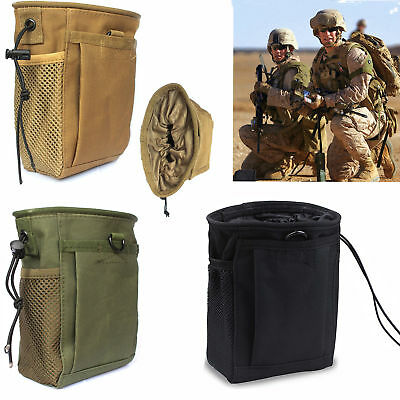 Pouch Molle Military Ammo Bag Utility Tactical Magazine Drop Dump Heavy Duty