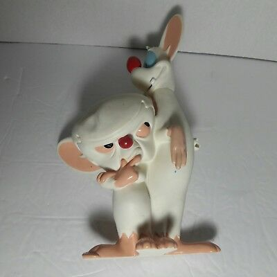 "Pinky And The Brain 10"" Action Figure Warner Brothers Animaniacs Toy Mice Mouse"