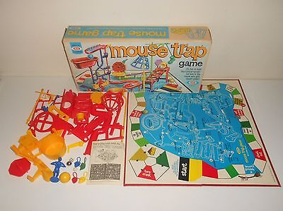 Vintage 1975 Ideal MOUSETRAP Board Game - Complete