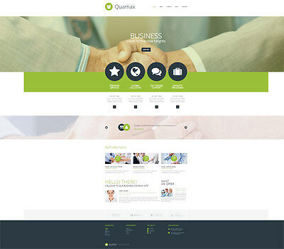 Professional Responsive Business Website Template