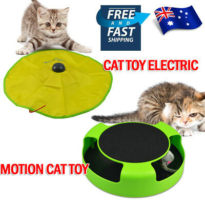 Electronic Interactive Cat's Meow Toys Moving Mouse Catch The Mouse Training TOY