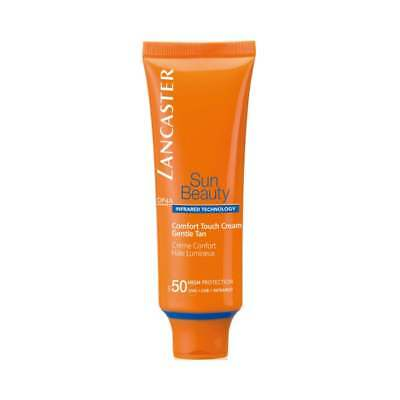 Lancaster Sun Comfort Touch Cream Gentle Tan SPF50 50ml for Her, NEW + BOXED