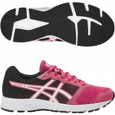 Asics Patriot 8 Women's Rouge Red White T669N 2001 Running Shoes Size UK 4-8