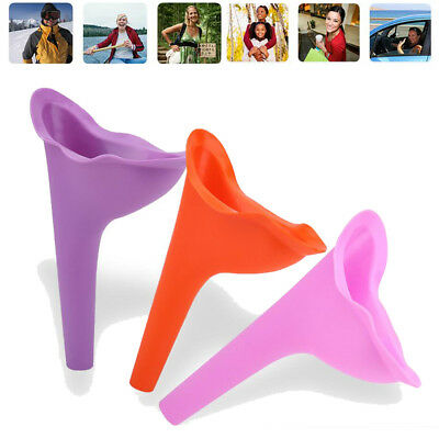 Reusable Women Lady Portable Urinal Camping Travel Urination Urine Funnel Toilet