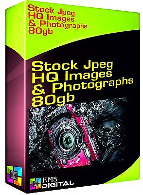 Stock 80gb Jpeg HQ Images Photographs