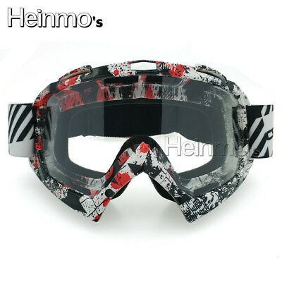 Motocross Motorcycle ATV MX Adult  FOX Dirt Bike Off-Road Helmets Goggle Eyewear