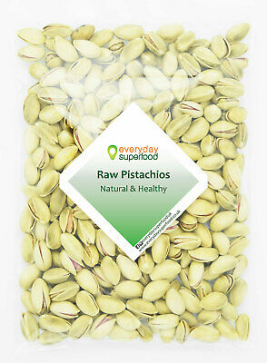 Pistachio Nuts Raw Unsalted Pistachios Nuts 400g - great value per 1kg