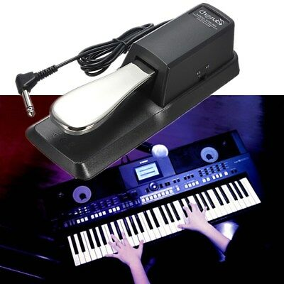 Electric Piano Damper Sustain Pedal Foot Switch for Yamaha Casio Roland Keyboard