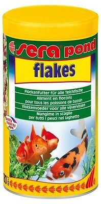 NOURRITURE BASSIN SERA POND FLAKES 1000 ML FLOCONS lot de 2 boites ref 7070