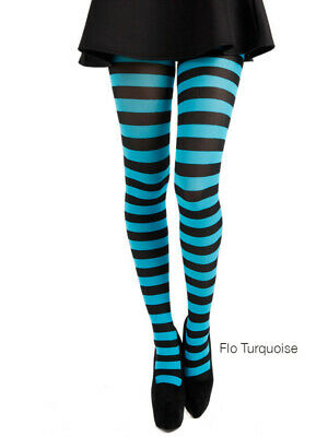 Pamela Mann Mismatched Stripe Tights