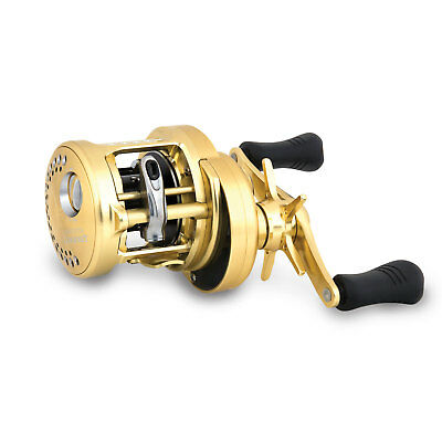 Shimano Calcutta Conquest 201 Multirolle Linkshand Angelrolle Angeln