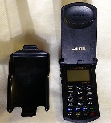 New Price - Used StarTAC Flip Phone Motorola & Clip Holster, no charger or box