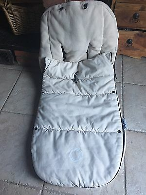 Bugaboo Universal Toggle Footmuff Off White  Cream Cosy Toes Cameleon Bee Donkey