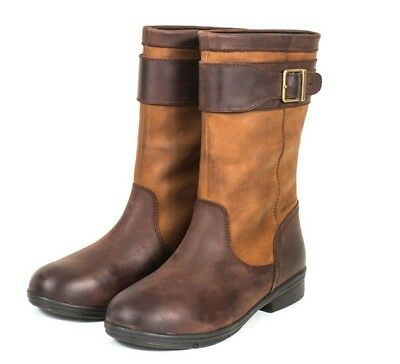 Dublin Estuary Mid Boots WATERPROOF Horse Riding / Country Boots **ALL SIZES**