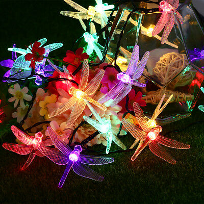 40 LED Solar Powered Fairy String Lights 6M for Garden Christmas Wedding Party