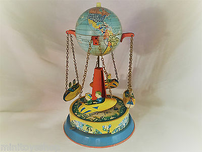 Vintage Tin Toy Carrousel / Karussell Round About Blomer & Schuler ?!?