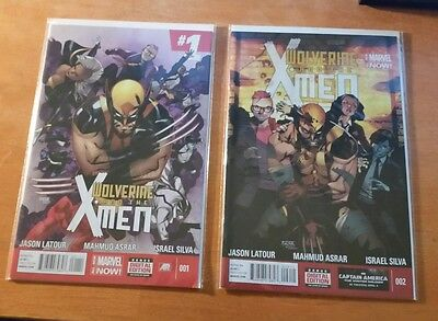 Wolverine and the X-Men (2014) #1, 2 Marvel Comics
