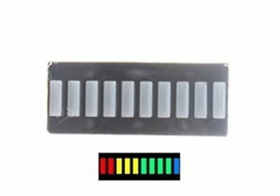 10 Segment Bar Graph Multi Color - 2 Pack, SHIPS DIRECT FROM CALIFORNIA