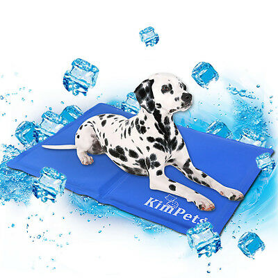 Pet Dog Cooling Gel Pad Mat Waterproof Comfort Bed for Small Pet E5