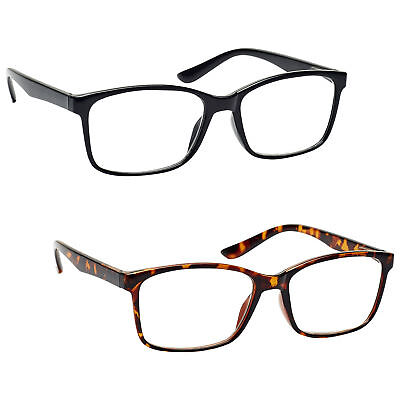 UV Reader Reading Glasses Large Designer Style Mens