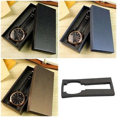 Luxurious Watch Box Rectangular Watch Gift Orgnizer Slot Holder Jewelry Rings