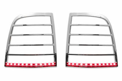Mtlb510 Ford Explorer Chrome Led Tail Light Bezel Trim Covers